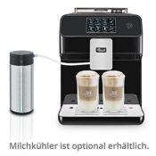 Kaffeemaschine mit Milchaufschäumer