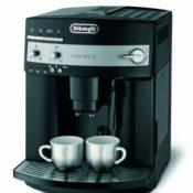 DeLonghi ESAM 3000.B Kaffee-Vollautomat (1100 Watt, 1,8 Liter, 15 bar, Dampfdüse) schwarz - 1