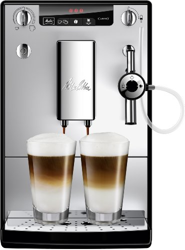 Melitta E 957-103 Kaffeevollautomat Caffeo Solo & Perfekt Milk (Cappuccinatore) silber