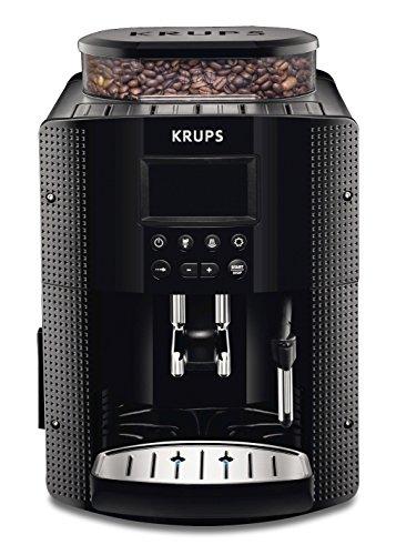 KRUPS EA8150 Kaffeevollautomat (1,8 l, 15 bar, LC Display, CappuccinoPlus-Düse) schwarz