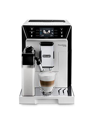 "De'Longhi PrimaDonna Class ECAM 556.55.W Kaffeevollautomat |3,5"" TFT-Farbdisplay | Integriertes Milchsystem | APP Steuerung | 19 bar Pumpendruck | 2-Tassen-Funktion | Weiß"