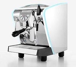 Espressomaschine Musica Lux und Kaffemühle Nuova Simonelli Grinta AMMT chrome