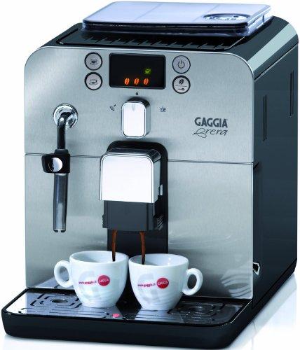 Gaggia Kaffeevollautomat Brera (Dampfdüse) schwarz